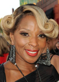 Mary J. Blige at the California premiere of