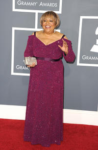 Mavis Staples at the 53rd Annual GRAMMY Awards.