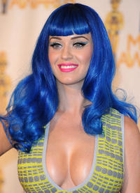 Katy Perry at the 2010 MTV Movie Awards in California.