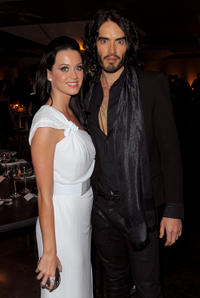 Katy Perry and Russell Brand at the 3rd Annual Art Of Elysium