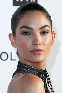Lily Aldridge at the Daily Front Row's 3rd Annual Fashion Los Angeles Awards in West Hollywood, California.