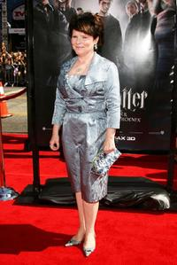 Imelda Staunton at the premiere of