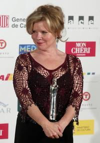 Imelda Staunton at the European Film Awards 2004.