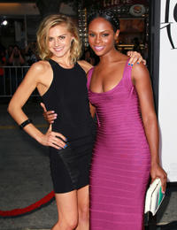 Eliza Coupe and Tika Sumpter at the California premiere of