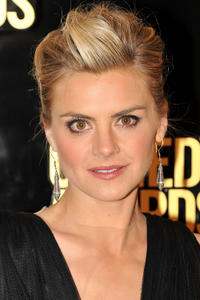Eliza Coupe at the Comedy Awards 2012 in New York.
