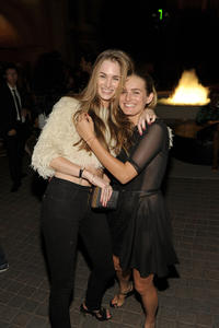 Laura Love and Nathalie Love at the 8th Annual Teen Vogue Young Hollywood party in California.