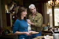 Mary Steenburgen and Sam Elliott in