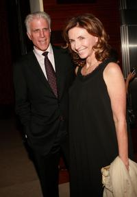 Mary Steenburgen and her husband Ted Danson at the premiere after party for the television of