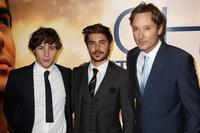 Augustus Prew, Zac Efron and Burr Steers at the UK premiere of