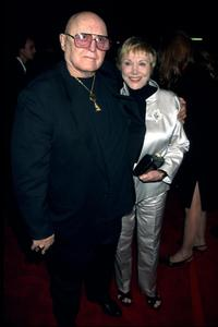 Rod Steiger and date at the Los Angeles premiere of