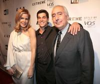 Mary Alice Stephenson, VJ Logan and Ben Stein at the crowning finale and celebration for VH1's America's Most Smartest Model.