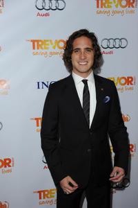 Diego Boneta at the Trevor Project's 2011 Trevor Live! in California.