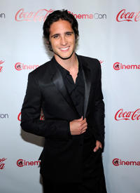 Diego Boneta at the Rising Star of 2012 Award during CinemaCon in Nevada.