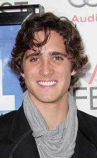 Diego Boneta at the premiere of