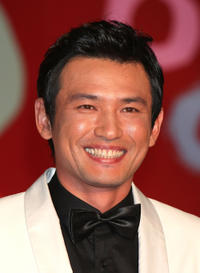 Hwang Jung-min at the day one of the 20th Tokyo International Film Festival.