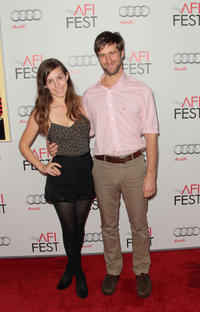 Sophia Takal and Lawrence Michael Levine at the Centerpiece Gala of