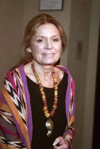 Gloria Steinem at the celebration for the 10th anniversary of Equality Now.