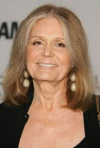Gloria Steinem at the Glamour Magazine's