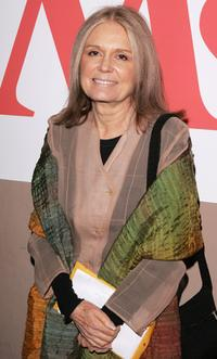 Gloria Steinem at the Ms. Magazine's