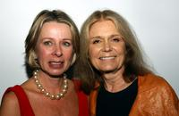 Diane English and Gloria Steinem at the Planned Parenthood Advocacy Event