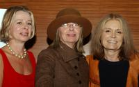 Diane English, Diane Keaton and Gloria Steinem at the Planned Parenthood Advocacy Event