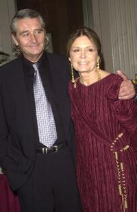 David Bale and Gloria Steinem at the 14th Annual Gloria Steinem Awards.