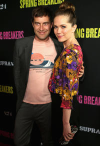 Mark Duplass and Katie Aselton at the California premiere of