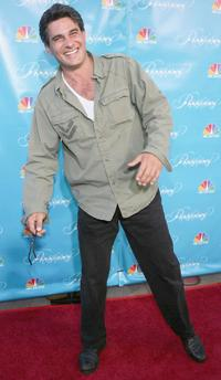 Richard Steinmetz at the premiere of
