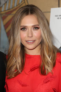 Elizabeth Olsen at the California premiere of