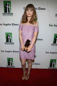 Bella Heathcote at the 16th Annual Hollywood Film Awards Gala in California.