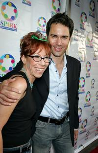 Mindy Sterling and Eric McCormack at the WeSPARKLE Variety Hour to benefit weSPARK Cancer Support Center.
