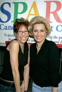 Mindy Sterling and Lorna Patterson at the WeSPARKLE Variety Hour to benefit weSPARK Cancer Support Center.