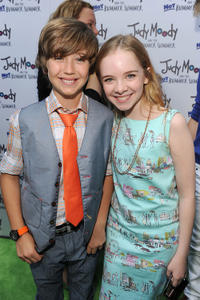 Garrett Ryan and Darcy Rose at the California premiere of