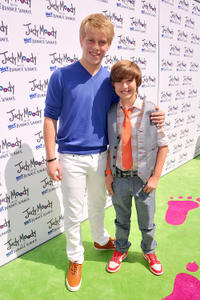 Jackson Odell and Garrett Ryan at the California premiere of