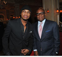 Ne-Yo and L.A. Reid at the Salon Millesime Ne-Yo & Estelle Private Concert in New York.