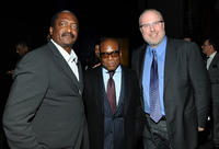 Matthew Knowles, L.A. Reid and President of Island Records Steve Bartels at the City Of Hope's Music and Entertainment Industry presents