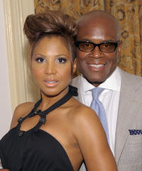Singer Toni Braxton and L.A. Reid at the New York Gala benefiting The Steve Harvey Foundation.