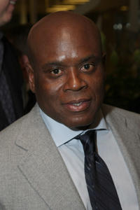 L.A. Reid at the UJA-Federation Of New York's Music Visionary Kick Off Breakfast in New York.