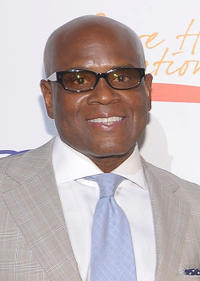 L.A. Reid at the New York Gala benefiting The Steve Harvey Foundation.