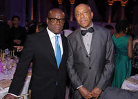 L.A. Reid and Russell Simmons at the 2nd Annual Steve Harvey Foundation Gala in New York.