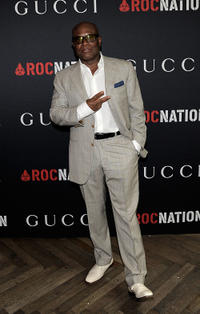 L.A. Reid at the Gucci And Roc Nation Pre-GRAMMY Brunch in California.