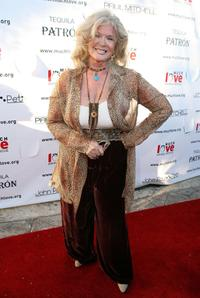 Connie Stevens at the Much Love Animal Rescues Bow Wow Ciao Benefit.