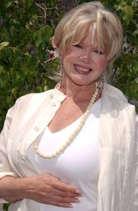 Connie Stevens at the opening of Nana's Garden.