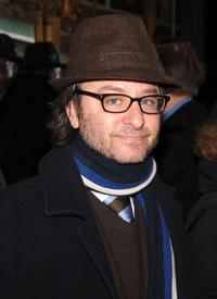 Fisher Stevens at the Robert Altman Memorial.