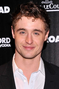 Max Irons at the N.Y. screening of