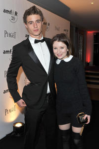 Max Irons and Emily Browning at the Gucci Museum Opening in Florence.