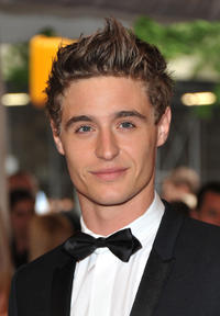 Max Irons at the