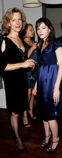 Juliet Stevenson and Elaine Cassidy at the private screening of