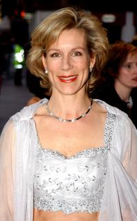 Juliet Stevenson at the premiere of