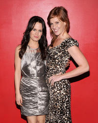 Elizabeth Reaser and Kate Nowlin at the world premiere of